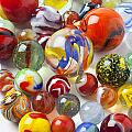 Many beautiful marbles Poster by Garry Gay