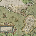 Map of North and South America Poster by Abraham Ortelius