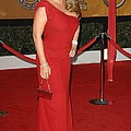 Mariah Carey Wearing A Valentino Gown Poster by Everett