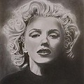 Marilyn Monroe Print by Mike OConnell