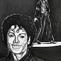 Michael Jackson II Poster by Toni  Thorne