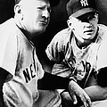 MICKEY MANTLE (1931-1995) Print by Granger