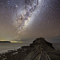 Milky Way Over Cape Schanck, Australia Poster by Alex Cherney, Terrastro.com