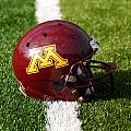 Minnesota Football Helmet Print by Bill Krogmeier