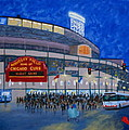 Night Game Print by J Loren Reedy