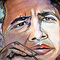 OBAMA II Poster by Valerie Wolf