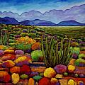 Organ Pipe Print by JOHNATHAN HARRIS