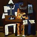 PICASSO: THREE MUSICIANS Poster by Granger