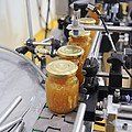 Preserve And Jam Bottling Production Line Poster by Photostock-israel