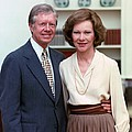 President Jimmy Carter And Rosalynn Print by Everett
