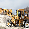 Removing Snow Poster by Ted Kinsman