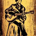 Robert Johnson Poster by Jeff DOttavio