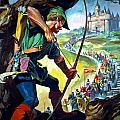 Robin Hood Poster by James Edwin McConnell