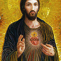 Sacred Heart of Jesus Poster by Smith Catholic Art