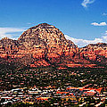 Sedona Red Rock Print by Lisa  Spencer
