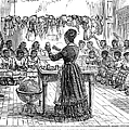 SEGREGATED SCHOOL, 1870 Print by Granger