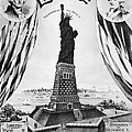 STATUE OF LIBERTY, 1885 Print by Granger