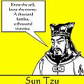Sun Tzu Poster by War Is Hell Store