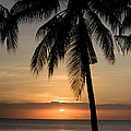 Sunrise At Bali Island Print by Tim Laman
