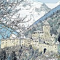 Taufers Knights Castle Valle Aurina Italy by Joseph Hendrix