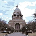 Texas Capitol Color 16 Poster by Scott Kelley