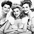 THE ANDREWS SISTERS Poster by Granger