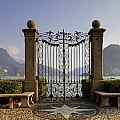 The gateway to Lago di Lugano Poster by Joana Kruse