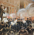 THE HAYMARKET RIOT, 1886 Print by Granger