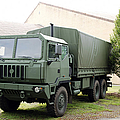 The Iveco M250 8 Ton Truck Used Poster by Luc De Jaeger