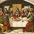 The Last Supper Poster by Master of Portillo