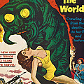 The Monster That Challenged The World Print by Everett