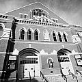 The Ryman Auditorium former home of the Grand Ole Opry and gospel union tabernacle Nashville Poster by Joe Fox