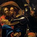 The Taking of Christ Poster by Michelangelo Caravaggio