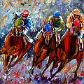 The Turn Print by Debra Hurd