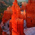 Thor's Hammer in Bryce Canyon Poster by Pierre Leclerc Photography