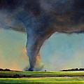 Tornado on the Move Print by Toni Grote