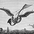 TROUV�S ORNITHOPTER Print by Granger