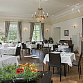 Upscale Hotel Dining Room Poster by Jaak Nilson