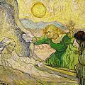 Van Gogh Raising of Lazarus after Rembrandt Print by Vincent van Gogh