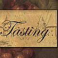 Wine Tasting Collage  Poster by Grace Pullen