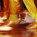 Yellow Dancing Shoes Poster by Anahi DeCanio