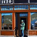 1130 High St. Print by Linda Apple