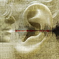 Voice Recognition Print by Mehau Kulyk
