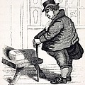 1836 Caricature Of Victorian Mortality Print by Paul D Stewart
