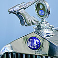 1933 Delage D8S Coupe Hood Ornament Poster by Jill Reger