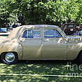 1949 Plymouth Delux Sedan . 5D16208 Print by Wingsdomain Art and Photography