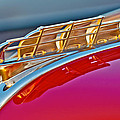 1949 Plymouth Hood Ornament Poster by Jill Reger