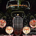 1950 Jaguar XK120 Alloy Roadster . 7D9179 Print by Wingsdomain Art and Photography
