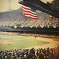 1950 Phillies vs Yankees World Series Guide Poster by Bill Cannon