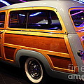 1951 Ford Country Squire - 7D17485 Print by Wingsdomain Art and Photography